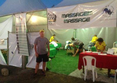 Sports Massage Tent